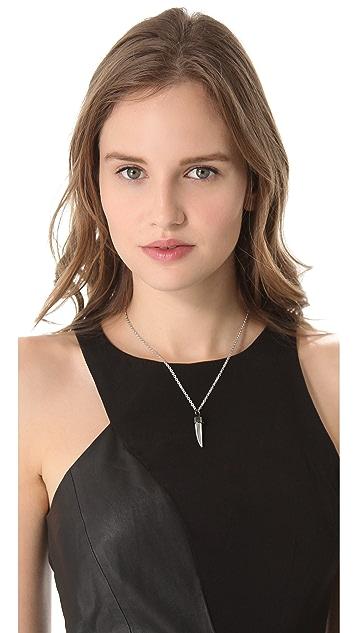 Rebecca Minkoff Horn Pendant Necklace
