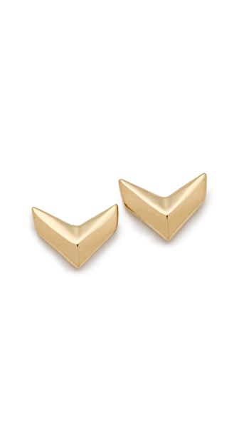 Rebecca Minkoff Heart Stud Earrings