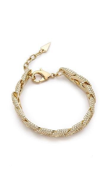 Rebecca Minkoff Pave Chain Link Bracelet