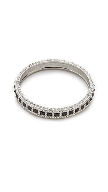 Rebecca Minkoff Flipped Crystal Bangle