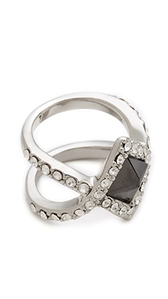 Rebecca Minkoff Flipped Crystal Ring