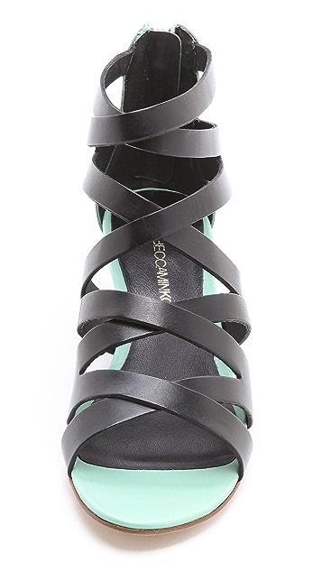 Rebecca Minkoff Bonnie Strappy Wedge Sandals