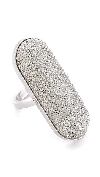 Rebecca Minkoff Pave ID Ring