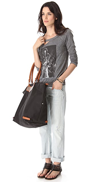 Rebecca Minkoff Large Travel Tote with Flat Studs