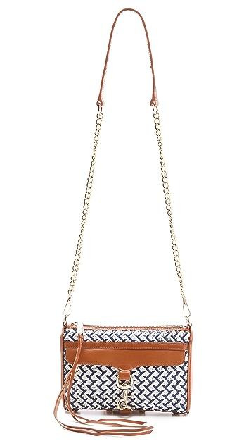 Rebecca Minkoff Crisscross Weave Mini MAC Bag
