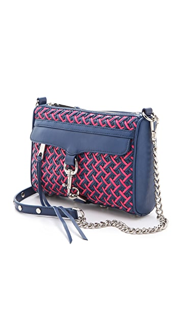 Rebecca Minkoff Bright Weave Mini MAC Bag