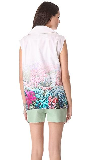 Rebecca Minkoff Digital Floral Stanton Vest
