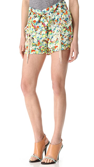 Rebecca Minkoff Acid Bloom Vincent Shorts