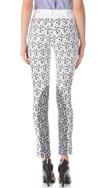 Rebecca Minkoff Eyelet Cadillac Pants