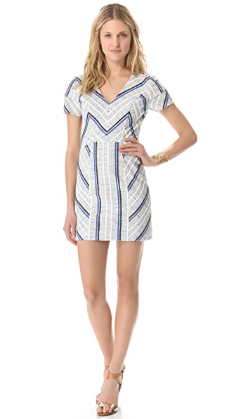 Rebecca Minkoff Sanderson Tweed Katya Dress