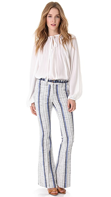 Rebecca Minkoff Sanderson Tweed Boot Cut Pants