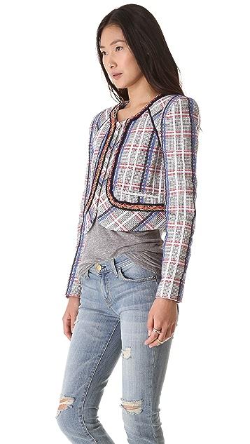 Rebecca Minkoff Jolie Acid Tweed Jacket