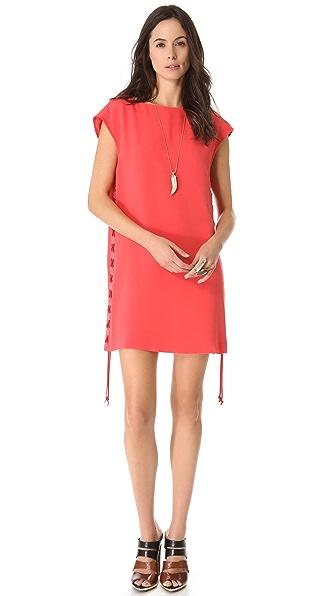 Rebecca Minkoff Terri Laced Side Dress