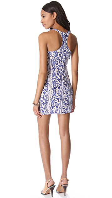 Rebecca Minkoff Brush Stripe Joshua Dress