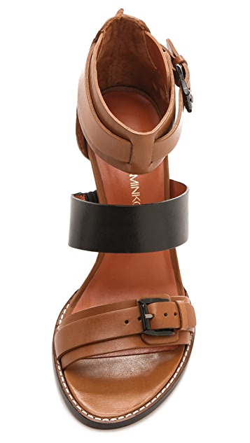 Rebecca Minkoff Morty Three Band Sandals