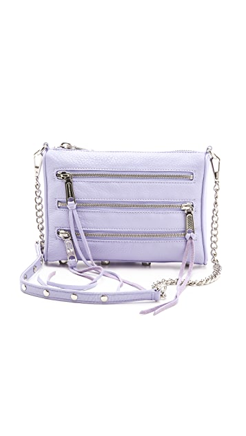 Rebecca Minkoff Mini 5 Zip Bag