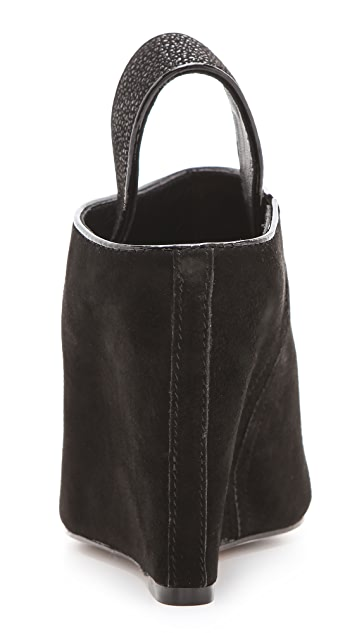 Rebecca Minkoff Sam Open Toe Booties
