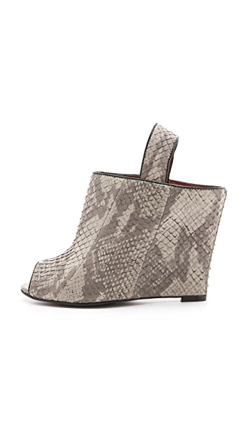 Rebecca Minkoff Sam Sling Open Toe Booties