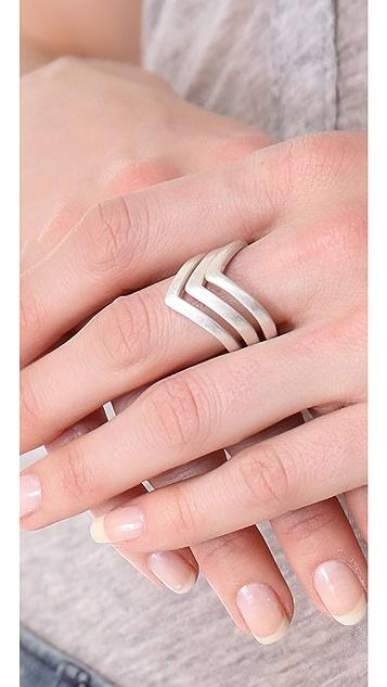 Rebecca Minkoff V Stackable Rings