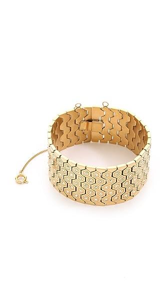 Rebecca Minkoff Hexagon Bracelet