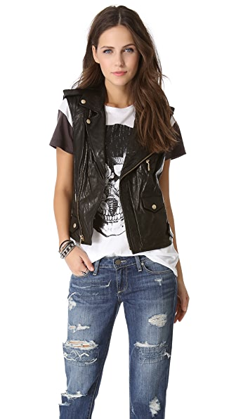 Rebecca Minkoff Leandra Leather Vest