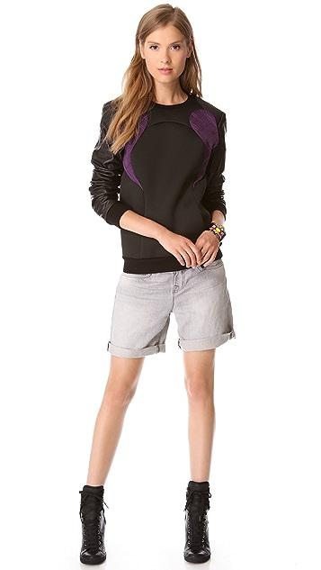 Rebecca Minkoff Aviation Sweatshirt