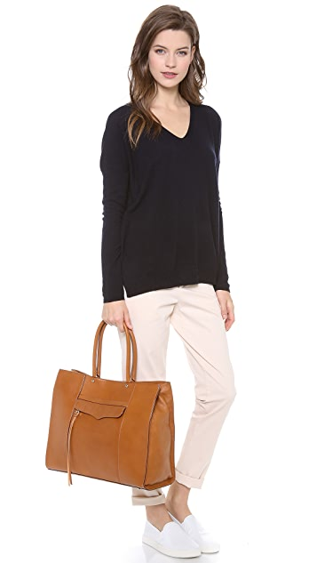 Rebecca Minkoff MAB Tote with Gold Tone Hardware