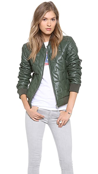 Rebecca Minkoff Nova Quilted Leather Jacket