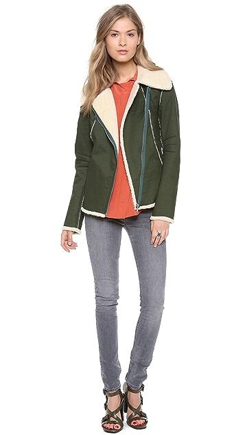 Rebecca Minkoff Sherpa Quinn Jacket