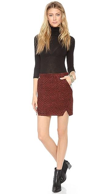 Rebecca Minkoff Iris Tweed Skirt