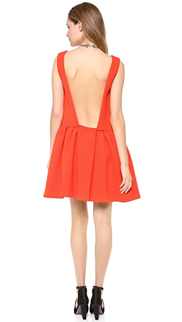 Rebecca Minkoff Kirk Open Back Dress