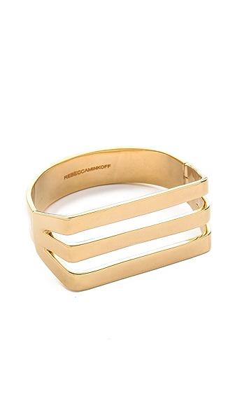 Rebecca Minkoff Straight Line Cuff Bracelet
