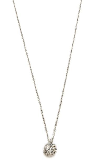 Rebecca Minkoff Mini Pave Pyramid Necklace