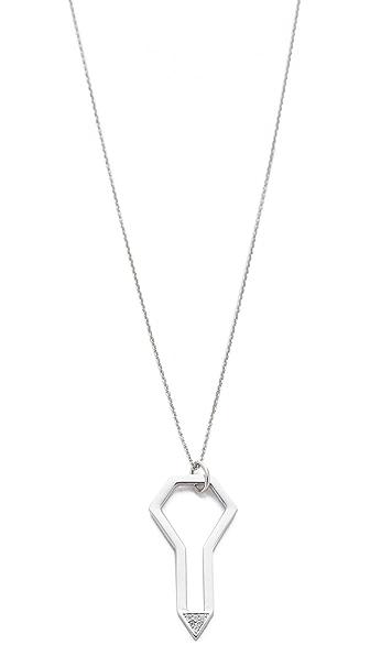 Rebecca Minkoff Key Pave Necklace