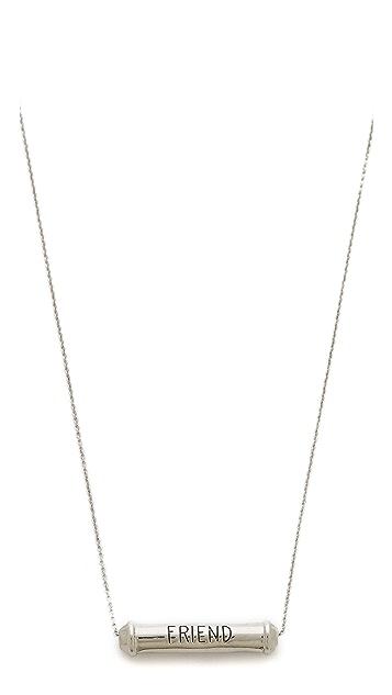 Rebecca Minkoff Best Friend Necklace