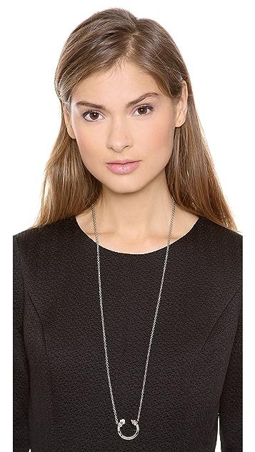 Rebecca Minkoff Curbs Cresent Necklace