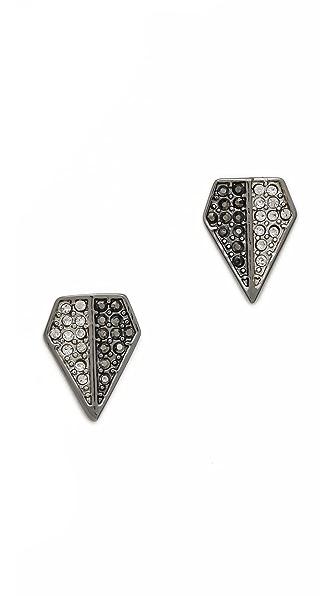 Rebecca Minkoff Blades Stud Earrings