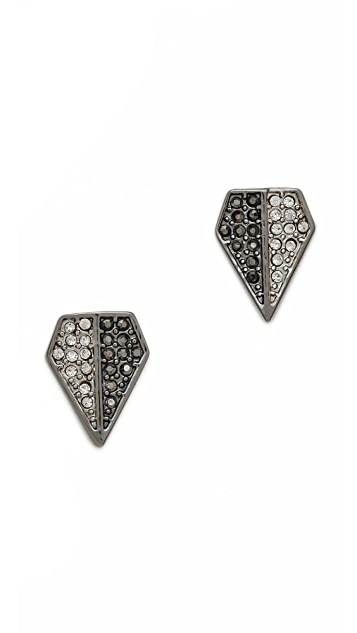 Rebecca Minkoff Blades Stud Earrings