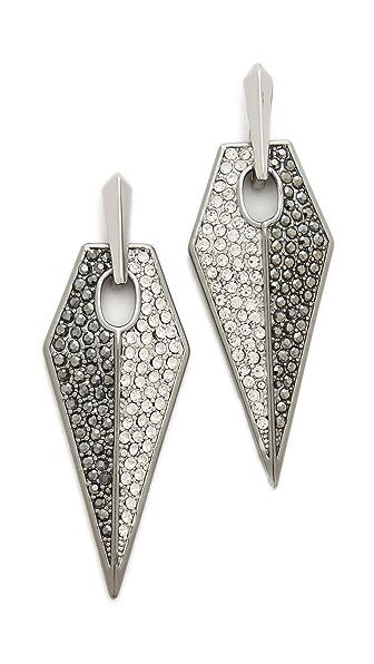 Rebecca Minkoff Blades Statement Earrings