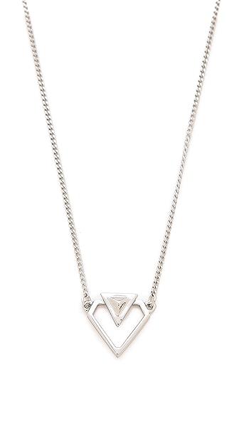 Rebecca Minkoff Blades Cutout Necklace