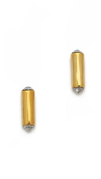 Rebecca Minkoff Mini Bar Stud Earrings