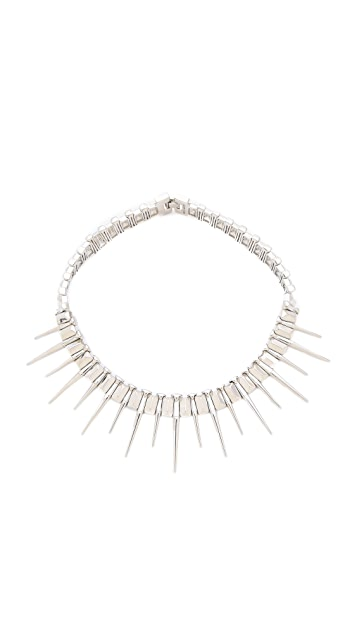 Rebecca Minkoff Spike Collar Necklace