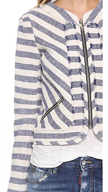 Rebecca Minkoff Salinas Striped Jacket