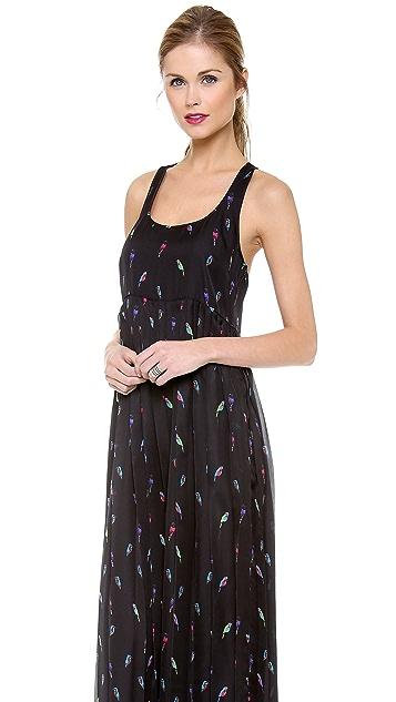 Rebecca Minkoff Sunita Maxi Bird Print Dress