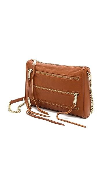 Rebecca Minkoff 5 Zip Cross Body Bag