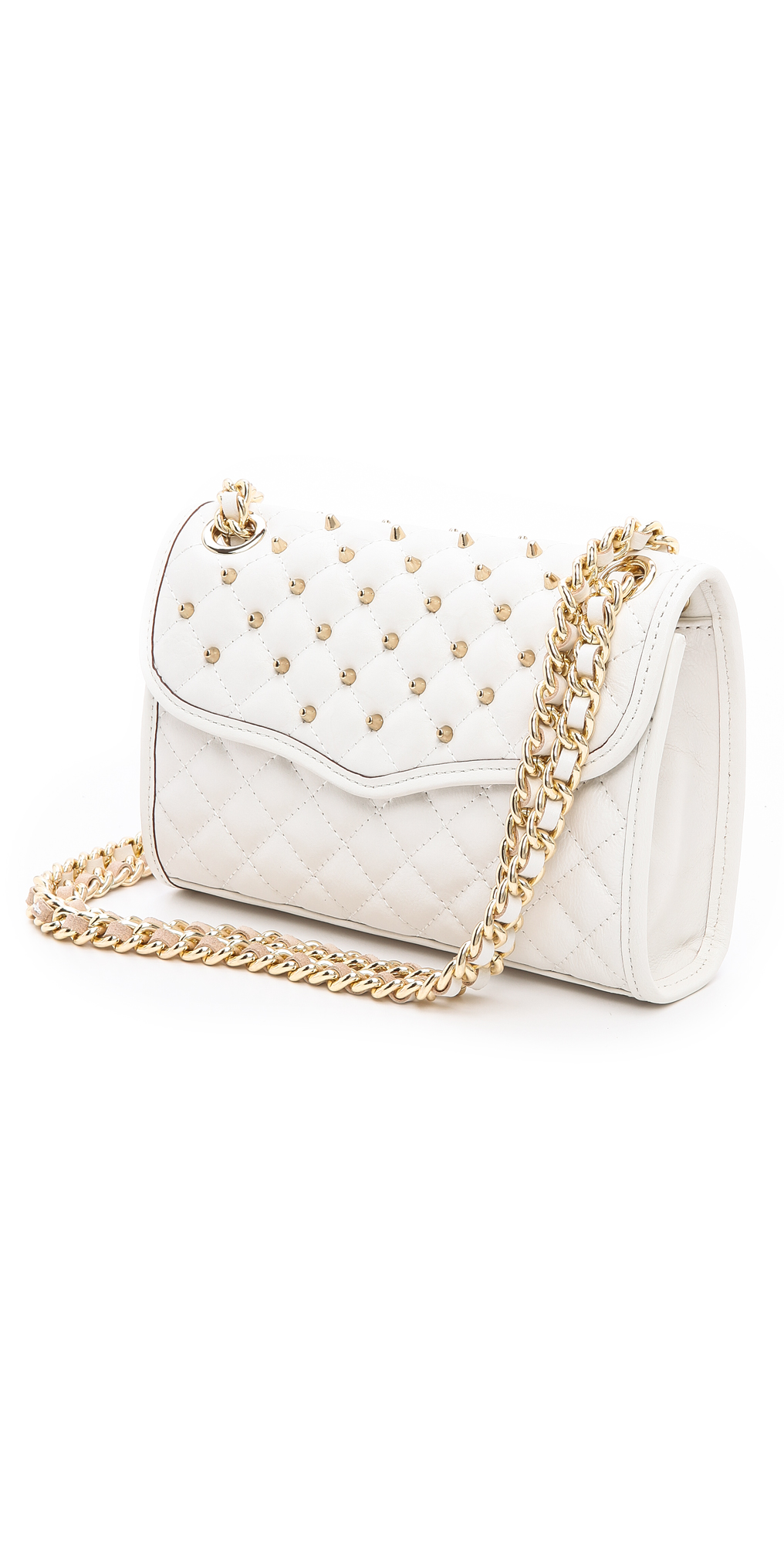 Rebecca Minkoff Mini Quilted Affair with Studs