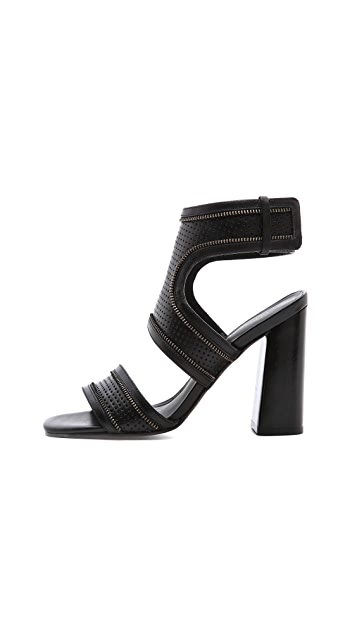 Rebecca Minkoff Parker Ankle Strap Sandals