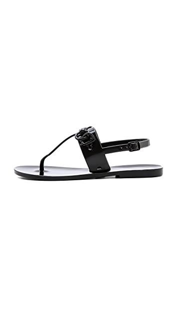 Rebecca Minkoff Petra Horsebit Jelly Sandals