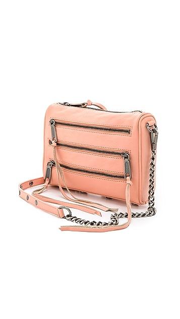Rebecca Minkoff Mini 5 Zip Cross Body Bag