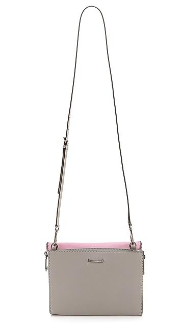 Rebecca Minkoff Colorblocked Marlowe Mini Cross Body Bag